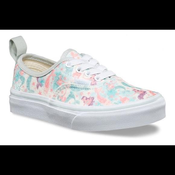 9ef7d6f9ca1335 Vans Mermaid Glitter Shoes